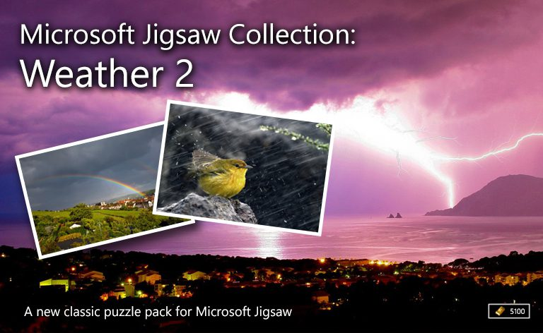 microsoft jigsaw collection weather 2 microsoft casual games