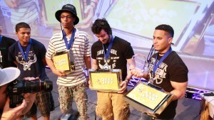 Congratulations to our EVO 2015 Top 3