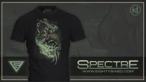 """Spectre"" Shirt from Eighty Sixed Available Now"