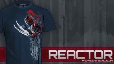 """Reactor"" Shirt Available from Eighty Sixed"