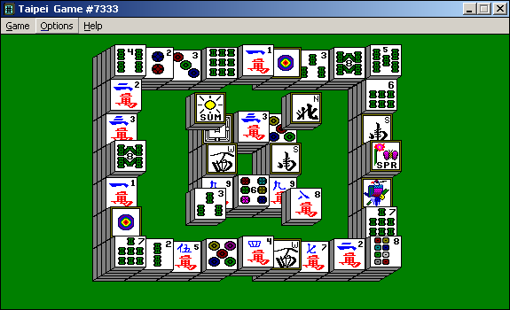 PC][late 90s or early 2000s]mahjong (traditional version not the