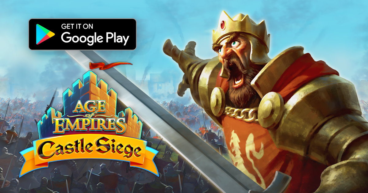 Age of Empires: Castle Siege Available Now On Android! - Microsoft Studios