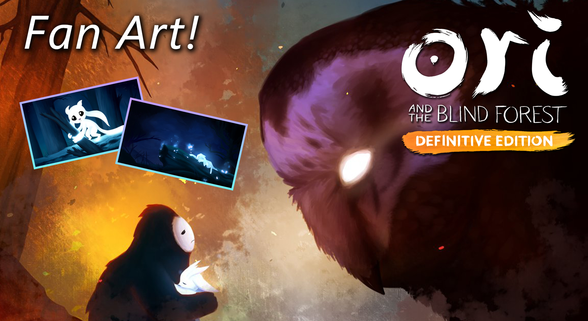 Ori And The Blind Forest Fan Art Microsoft Studios